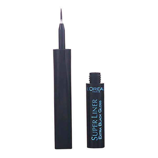 L'Oreal Make Up - SUPERLINER eyeliner carbon gloss-Universal Store London™