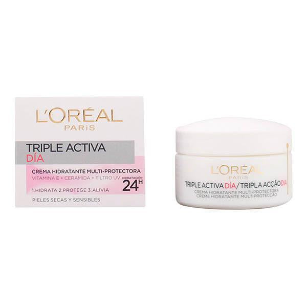 L'Oreal Make Up - TRIPLE ACTIVA day cream PS 50 ml-Universal Store London™