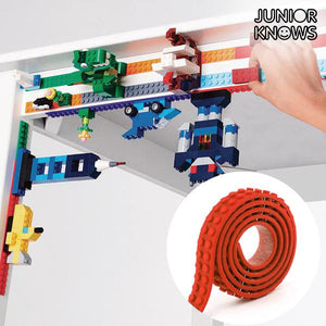 Magic Junior Knows Red Adhesive Building Tape-Universal Store London™