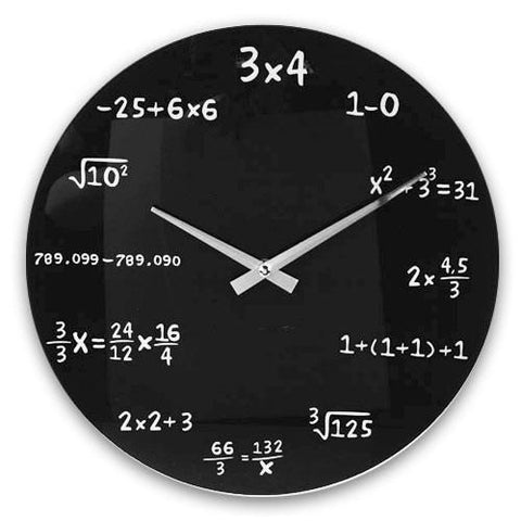 Maths Wall Clock-Universal Store London™