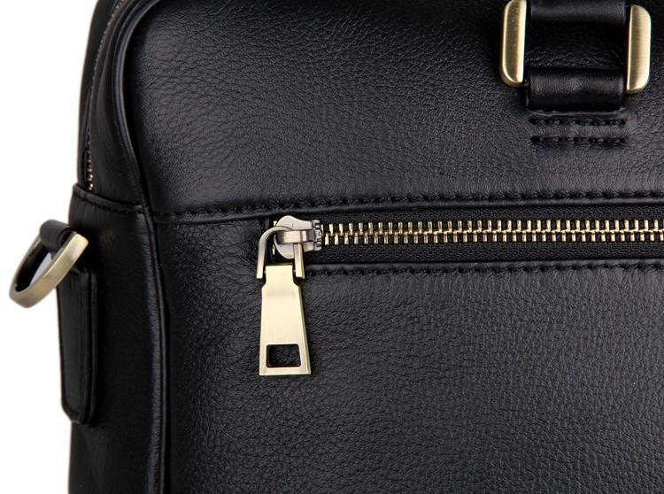 'Mayfair' Leather Business Bag-Universal Store London™