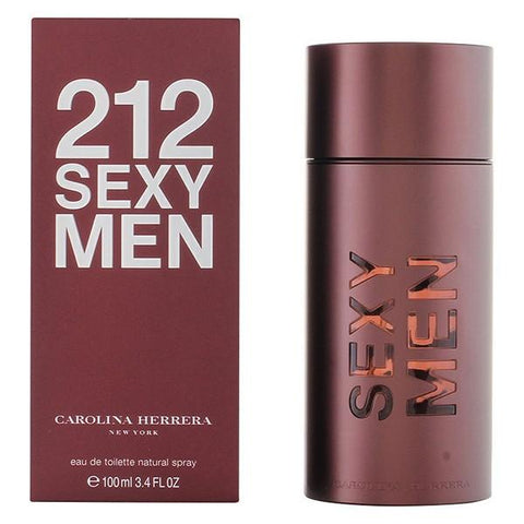 Image of Men's Perfume 212 Sexy Carolina Herrera EDT-Universal Store London™