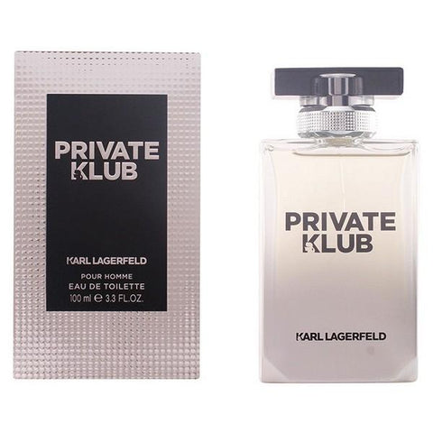 Image of Men's Perfume Private Klub Pour Homme Lagerfeld EDT-Universal Store London™