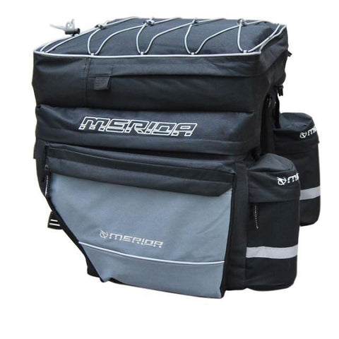 Image of Merida Waterproof 3 in 1 Bicycle Pannier Bag-Universal Store London™