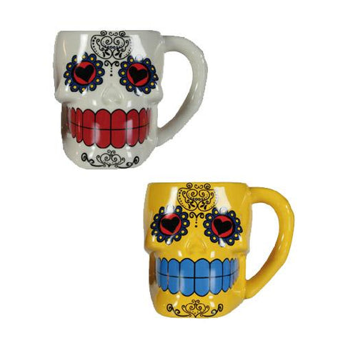 Mexican Skull Ceramic Mug-Universal Store London™