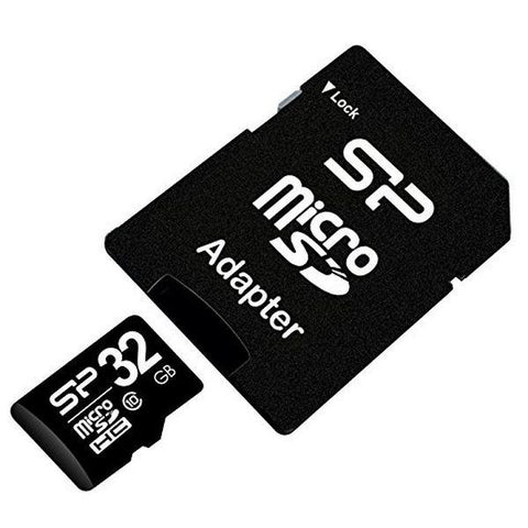 Micro SD Card Silicon Power MTMSDM0171 SP032GBSTH010V10SP HC 32 GB Class 10-Universal Store London™