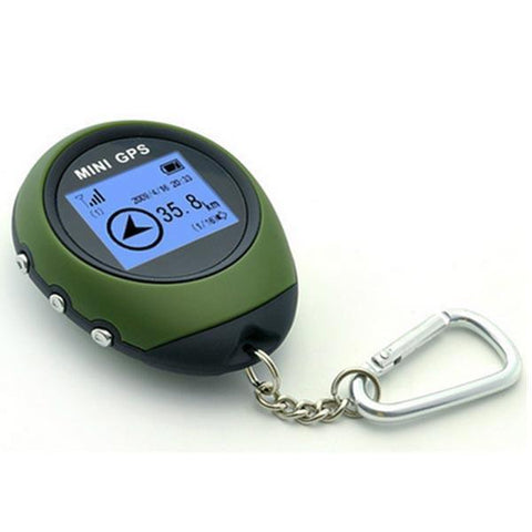 Image of Mini GPS Receiver + Location Finder with Display Screen and Keychain-Universal Store London™