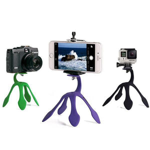 Mini Tripod Mount Portable Flexible Stand Holder for iPhone Smartphone Gopro SJCAM Xiaomi Yi-Universal Store London™