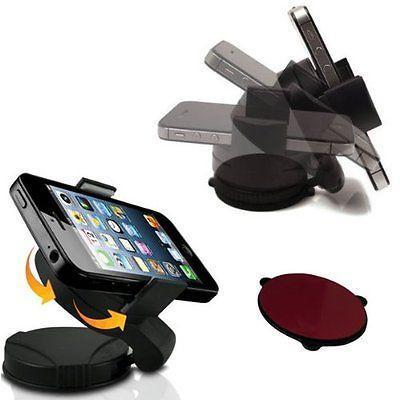Mini Universal Car Windshield Mount Phone Holder Fits Most Smartphones-Universal Store London™