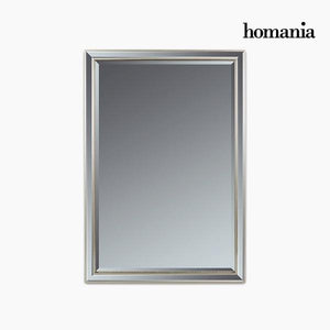 Mirror Synthetic resin Bevelled glass Silver (70 x 4 x 100 cm) by Homania-Universal Store London™