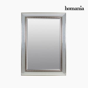 Mirror Synthetic resin Bevelled glass Silver (80 x 4 x 110 cm) by Homania-Universal Store London™