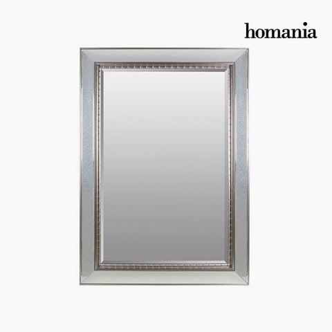 Image of Mirror Synthetic resin Bevelled glass Silver (80 x 4 x 110 cm) by Homania-Universal Store London™