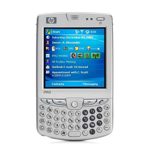 "Mobile Telephone HP hw6515 iPAQ 3"" TFT Intel 312MHz Silver-Universal Store London™"