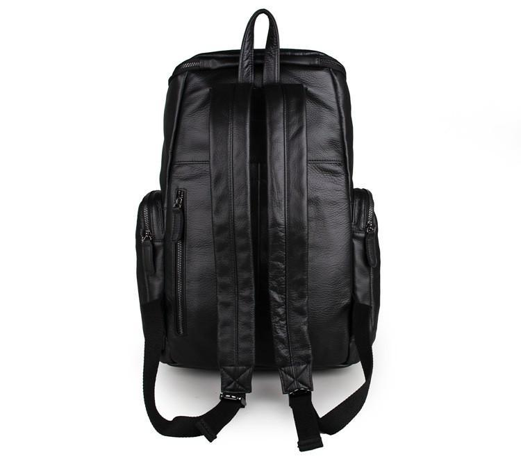 'MontBlanc' Large Leather Backpack-Universal Store London™
