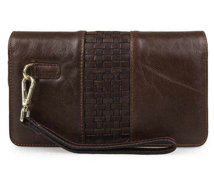 'Moscow' Classic Genuine Leather Clutch-Universal Store London™