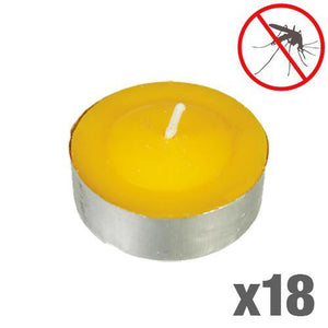 Mosquito Repellent Citronella Candles (pack of 18)-Universal Store London™
