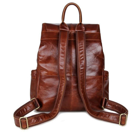 Image of 'Mulier' Casual Soft Leather Women's Backpack-Universal Store London™