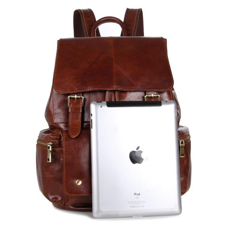 'Mulier' Casual Soft Leather Women's Backpack-Universal Store London™