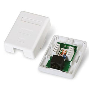 Network Connection Box NANOCABLE 10.21.1501 UTP RJ45 6 White-Universal Store London™