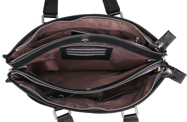 New England Leather Laptop Briefcase-Universal Store London™