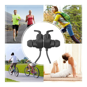 NEW QCY QY12 Bluetooth 4.1 Wireless In-Ear Sport Headsets with Noise Cancelling-Universal Store London™