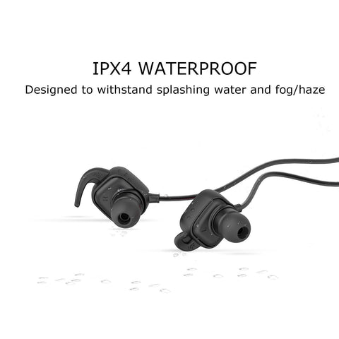 Image of NEW QCY QY12 Bluetooth 4.1 Wireless In-Ear Sport Headsets with Noise Cancelling-Universal Store London™