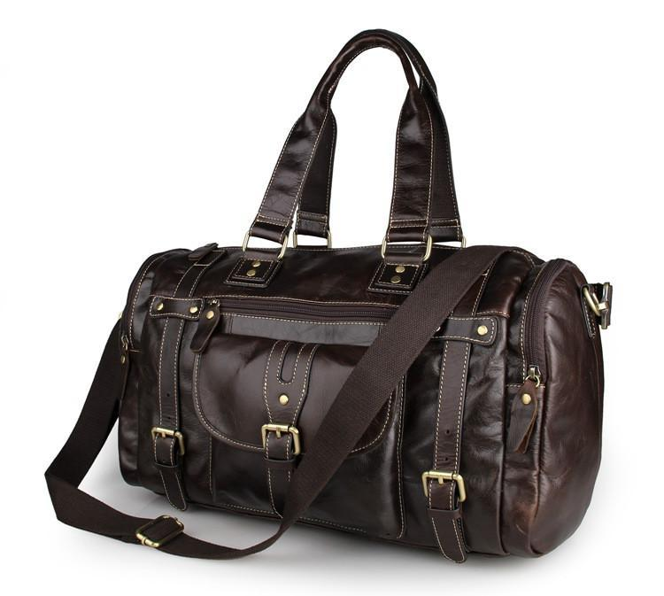 'New South Wales' Leather Travel Bag-Universal Store London™