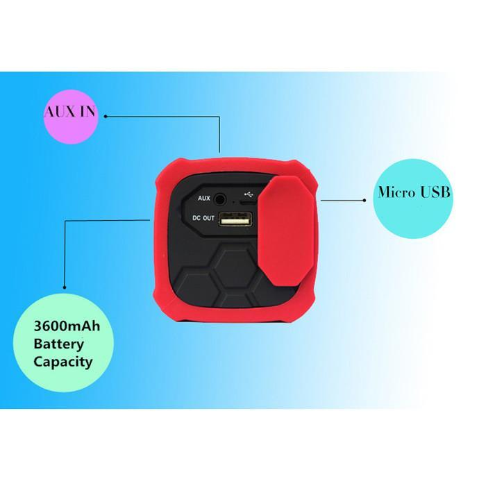 NFC Waterproof Bluetooth 4.0 Super Bass Speaker & 3600mAh Power Bank-Universal Store London™