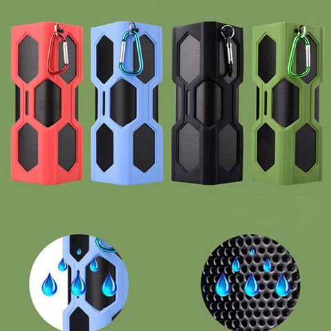 Image of NFC Waterproof Bluetooth 4.0 Super Bass Speaker & 3600mAh Power Bank-Universal Store London™
