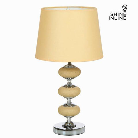 Nickel and ceramic table lamp by Shine Inline-Universal Store London™