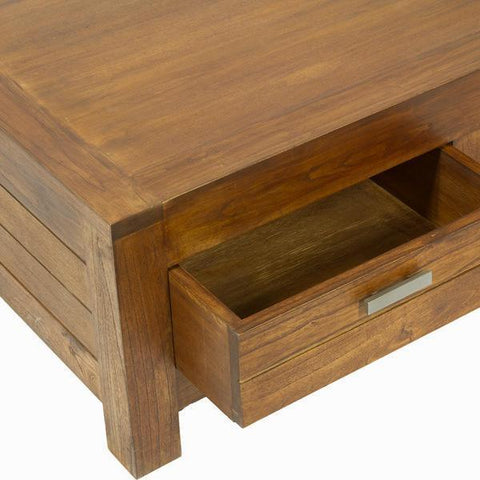Ohio coffee table 2 drawers - Be Yourself Collection by Craften Wood-Universal Store London™
