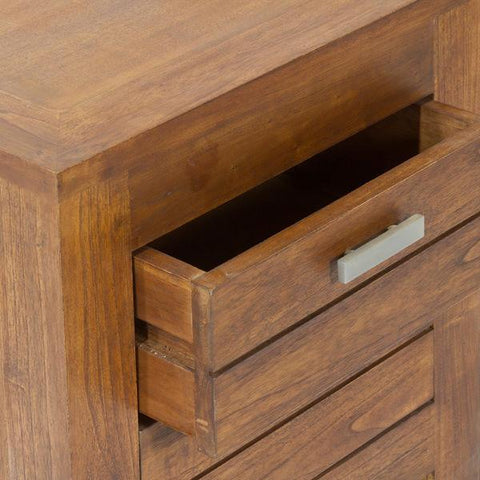 Ohio nightstand 2 drawers - Be Yourself Collection by Craften Wood-Universal Store London™