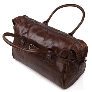 'Old Angler' Leather Travel Bag-Universal Store London™