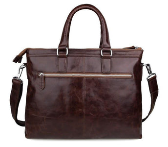 'Oliver' Leather Business Bag Briefcase Document Case-Universal Store London™