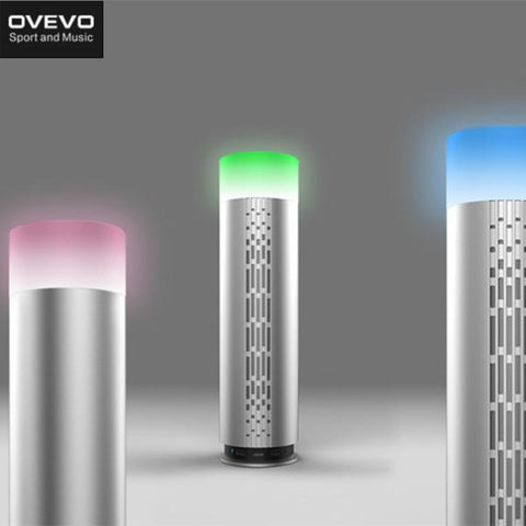 Ovevo Melody Z3 Smart Colorful LED Lamp Alarm HIFI Bluetooth Speaker With Mic-Universal Store London™