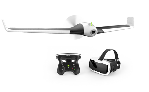 Image of Parrot Disco Drone - with Skycontroller 2 and FPV Cockpit Glasses-Universal Store London™