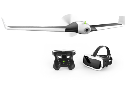 Parrot Disco Drone - with Skycontroller 2 and FPV Cockpit Glasses-Universal Store London™