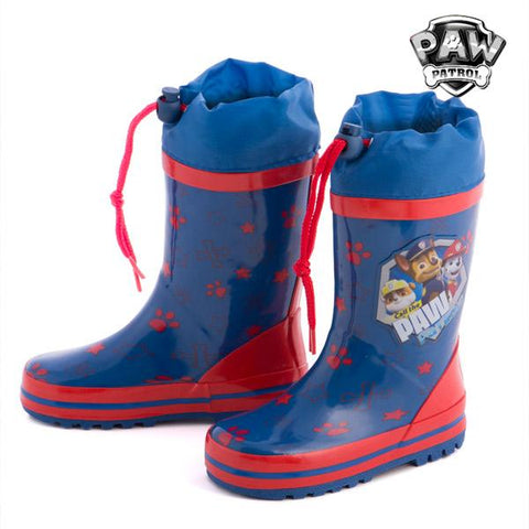 Image of Paw Patrol Blue Rain Boots-Universal Store London™