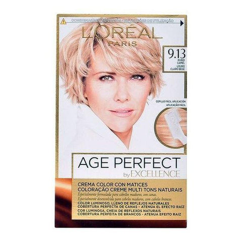Permanent Anti-Ageing Dye Excellence Age Perfect L'Oreal Expert Professionnel Blonde-Universal Store London™