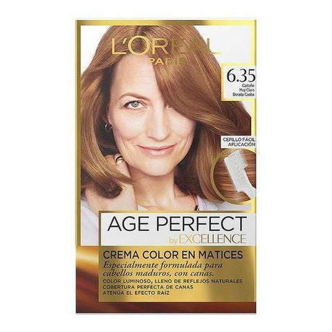 Image of Permanent Dye Excellence Age Perfect L'Oreal Expert Professionnel-Universal Store London™