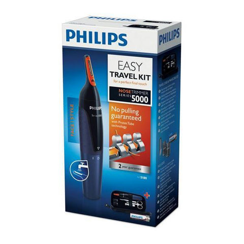 Philips NOSETRIMMER Series 5000 Comfortable nose trimmer and manicure set-Universal Store London™