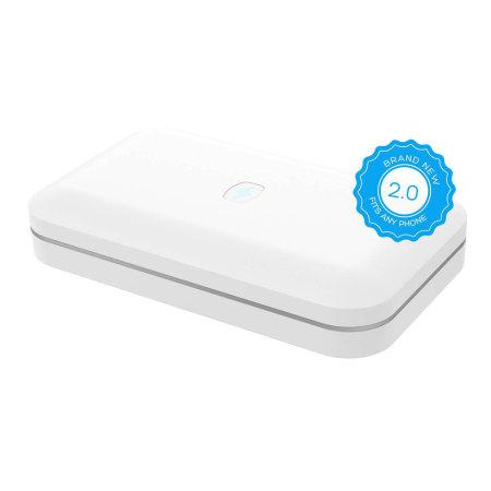 PhoneSoap 2.0 UV Phone Sanitiser & Charger - White-Universal Store London™