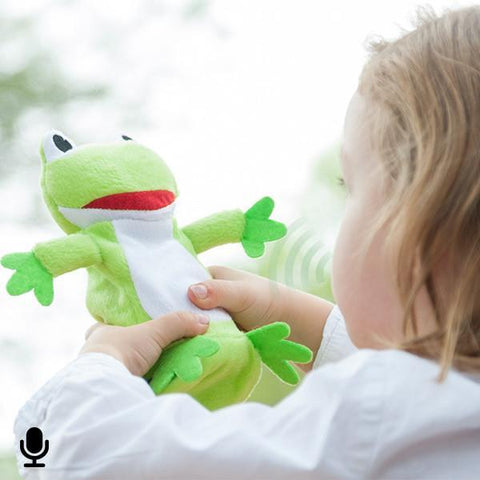 Image of Plush Frog Voice Recorder and Player-Universal Store London™