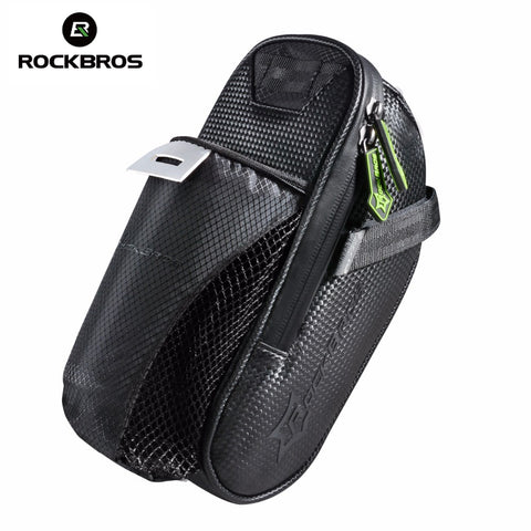 ROCKBROS Waterproof Bicycle Saddle Bag With Water Bottle Pocket-Universal Store London™
