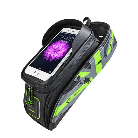 Image of ROCKBROS Touch Screen Top Front Tube Frame Waterproof Pack-Universal Store London™