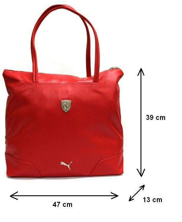 Puma Ferrari LS Shopper Bag 071596-02-Universal Store London™