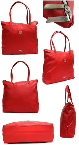 Image of Puma Ferrari LS Shopper Bag 071596-02-Universal Store London™