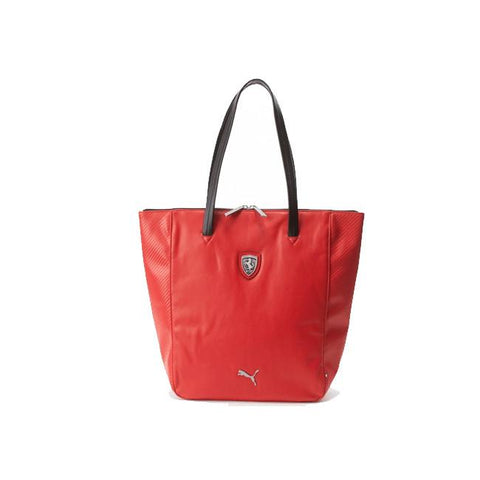 Puma Ferrari LS Shopper Bag Red (Ferrari official licensed series) 073153 02-Universal Store London™
