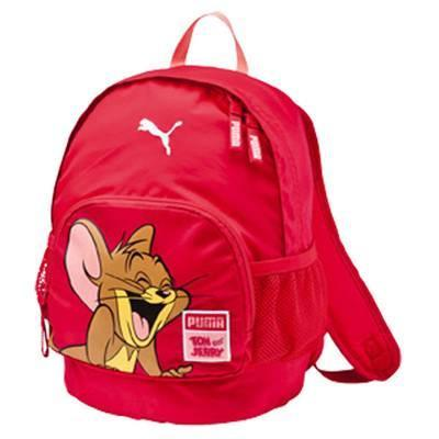 Image of Puma Tom and Jerry Small Children's Backpack Pink 073202-02-Universal Store London™