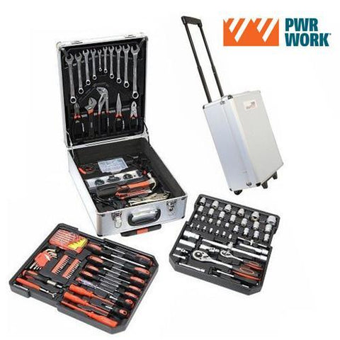 PWR Work Tool Kit on Wheels (186 tools)-Universal Store London™